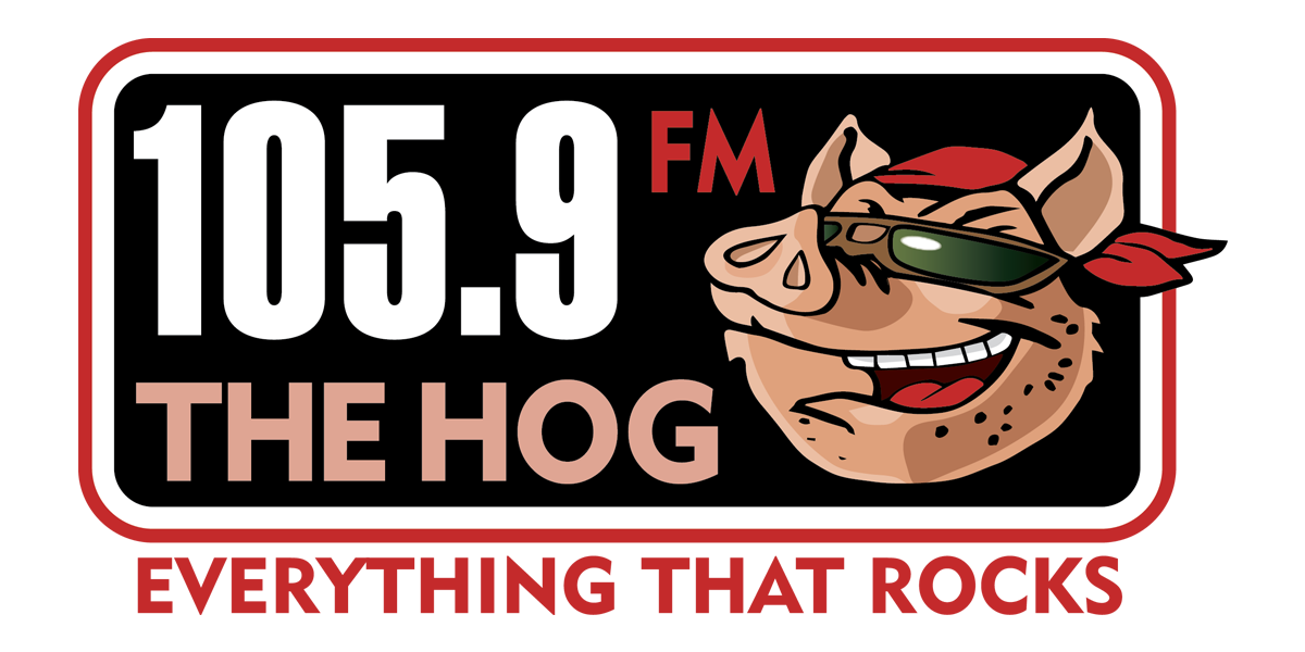 105.9 The Hog Logo